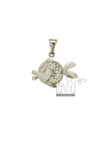 FISH PENDANT 17x21 MM IN AG...