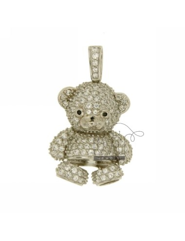 BEAR PENDANT 29x22 MM IN AG...