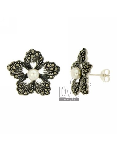 MARKASIT EARRINGS BLUME UND...