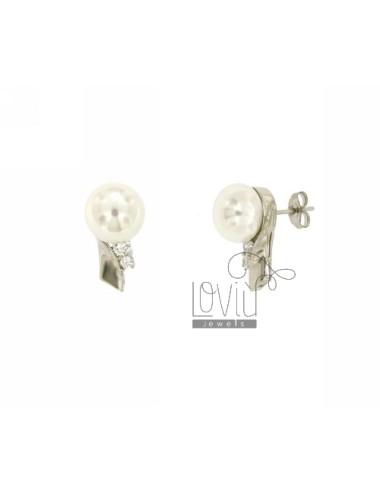 Ohrringe Perle 10 mm und...