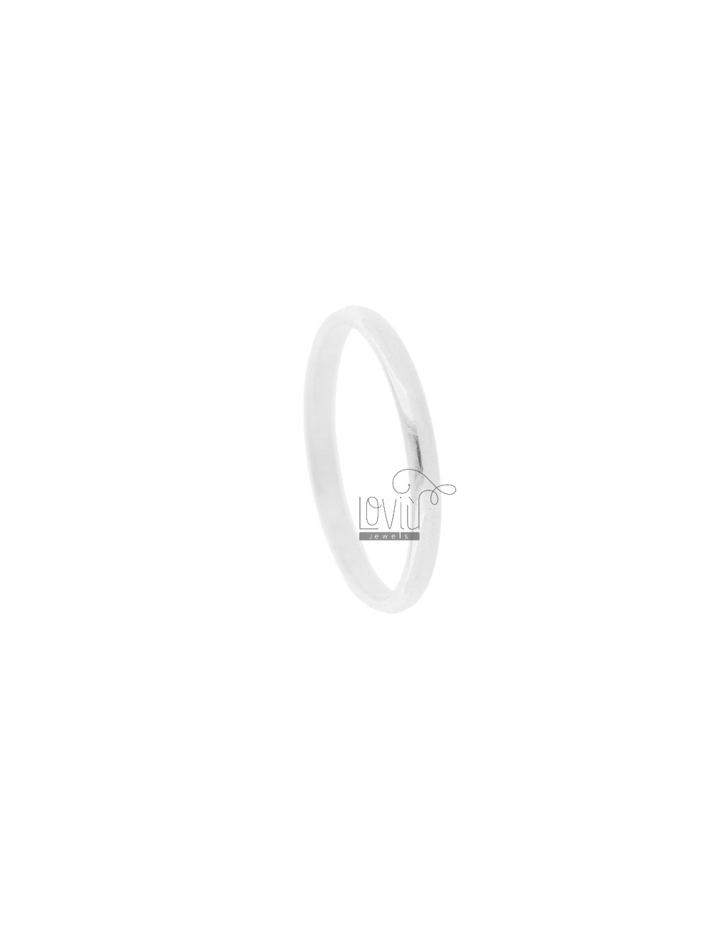 STOP RINGS 1.7 MM SILVER TIT. 925 ‰