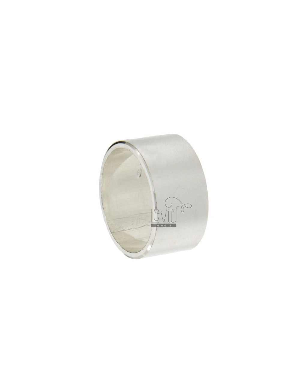 ENGLISH 10 MM RING IN SILVER TIT 925 ‰