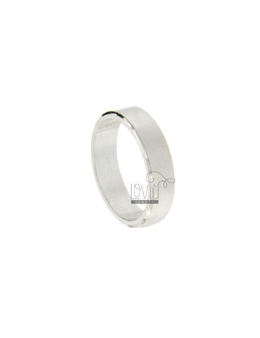 RING BAND FRENCH SILVER TIT 925 ‰