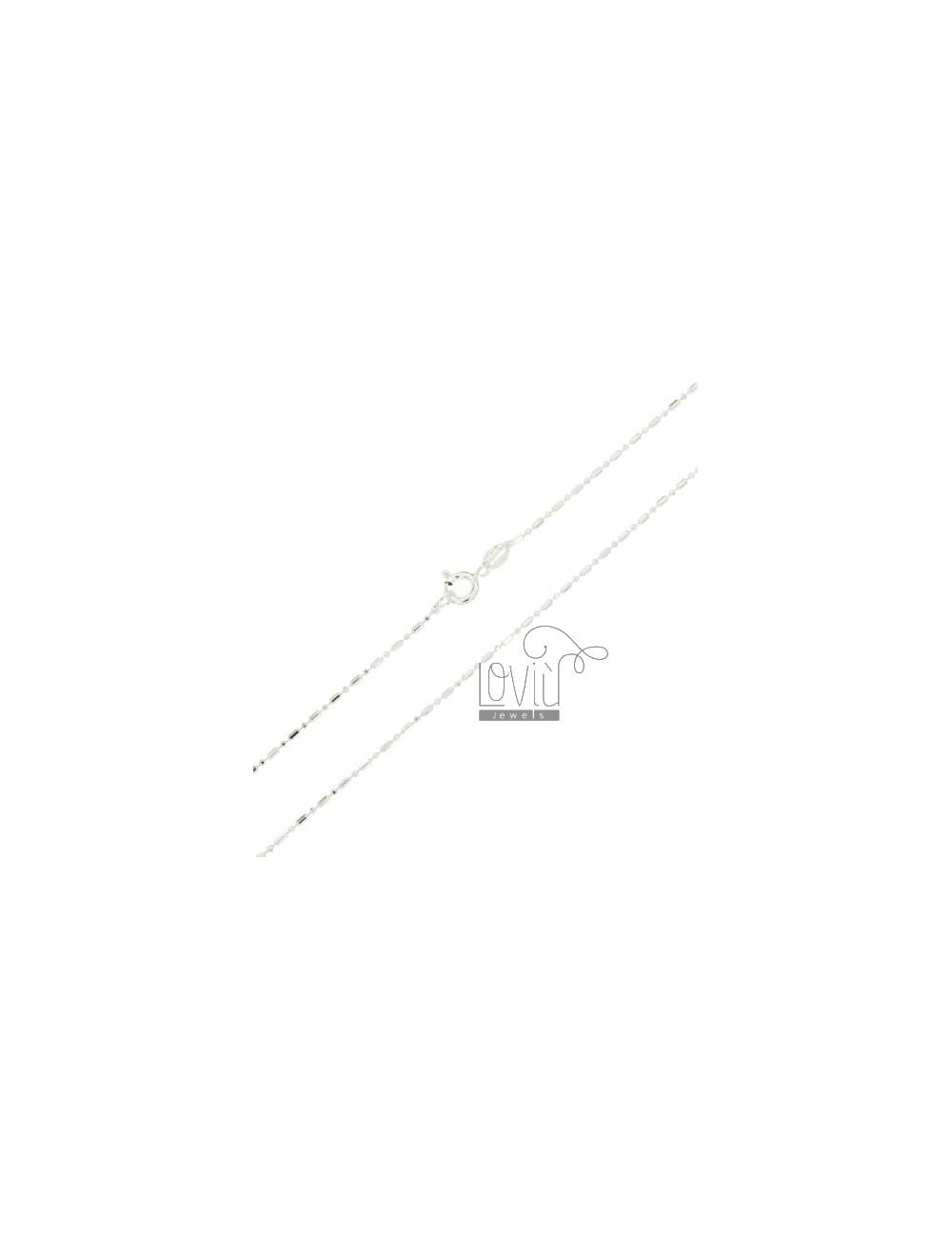 SEMICOLON CHAIN &8203&82031.2 MM 50 CM IN TIT AG 925
