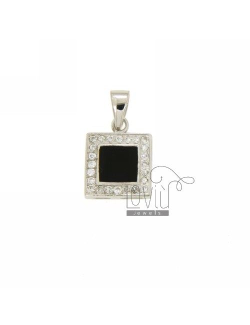 COURT SQUARE AG TIT 92.5 ‰ ONYX AND ZIRCONIA