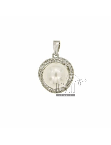 ROUND PEARL NECKLACE WITH...