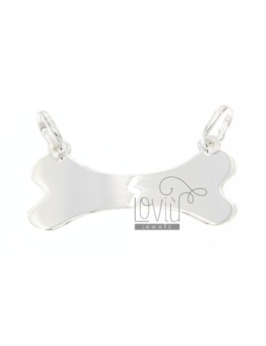DIVIDED IN SILVER NECKLACE BONE 925 ‰