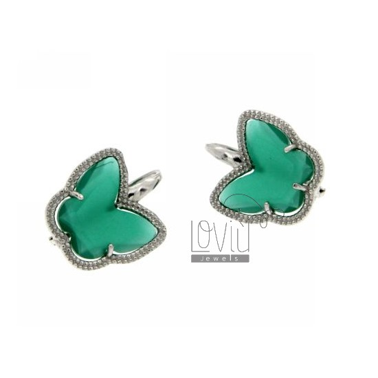 EARRING 925 SILVER AND STONE IDROTERNALI