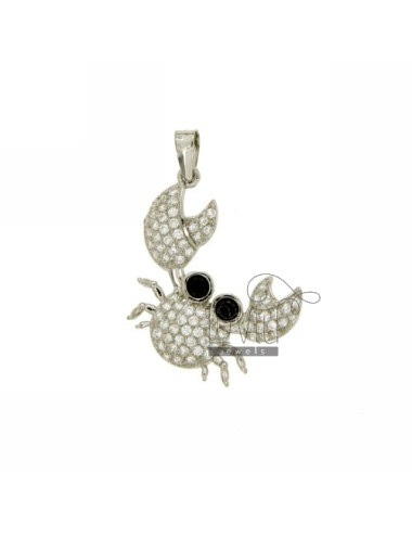 PENDANT crab MM 22X20 IN AG...