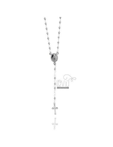 Collar del rosario CON LA...