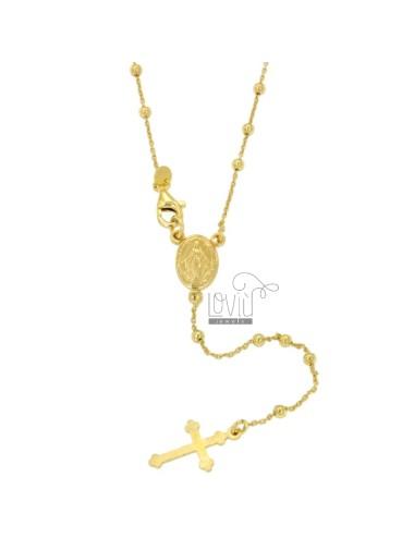 Collar del rosario CABLE...