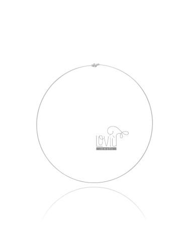 STIFF NECK TIT SILVER 1 MM 925
