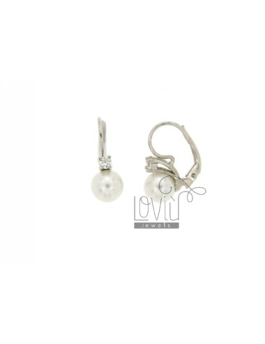 8 mm pearl earring nun and...