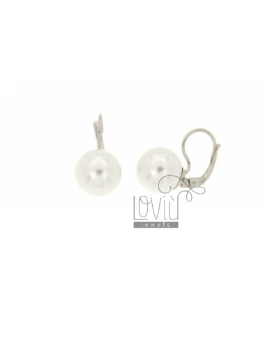 PEARL EARRING nun MM 12 IN...