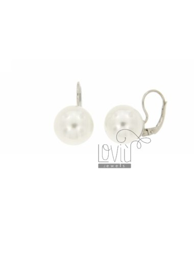 PEARL EARRING nun MM 14 IN...