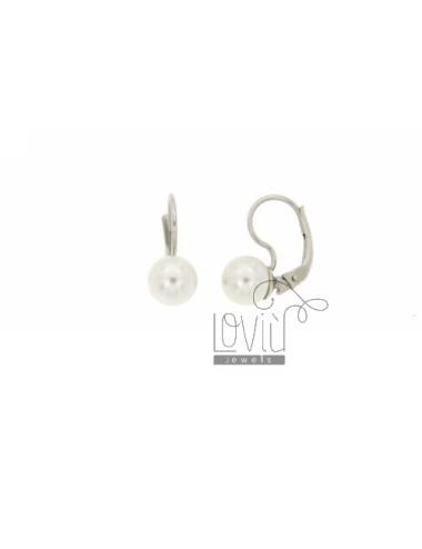 8 mm pearl earring nun in...