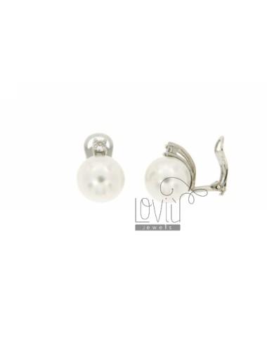 12 MM PEARL EARRINGS CLIPS...