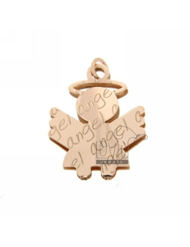 PENDANT ANGEL ANGEL IN ROSE GOLD PLATED AG TIT 925