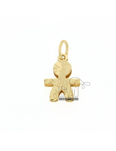 BABY BOY PENDANT IN GOLD PLATED AG TIT 925 ‰