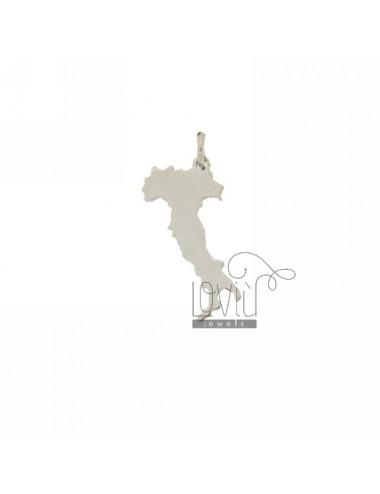 ITALIAN CHARM LASER CUTTING IN SILVER RHODIUM 925 ‰