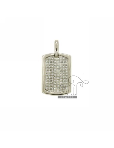 Pendant PLATE 18x13 MM IN...