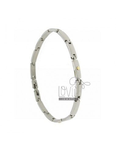 Pivoted BRACELET WITH STEEL...