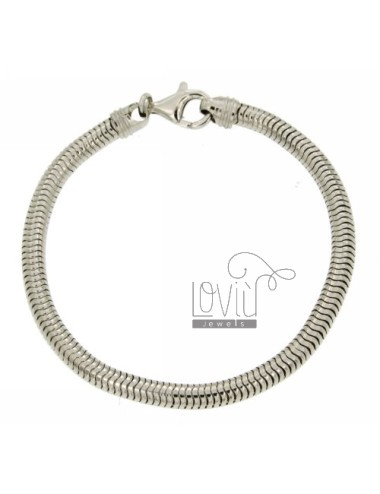 BRACELET TUBE GAS MM 5 IN RADIATED TIT 925 ‰ MEASUREMENT 22