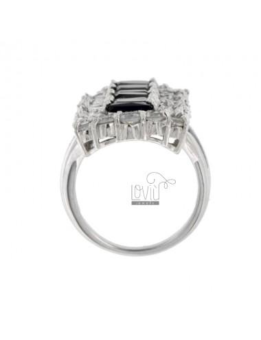 Vertical rectangular ring...