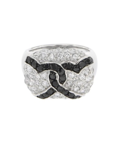 RECTANGULAR RING WITH CUBIC...