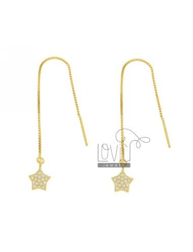 EARRINGS UP AND DOWN STAR...