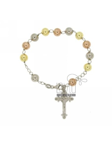 Bracciale rosario con...