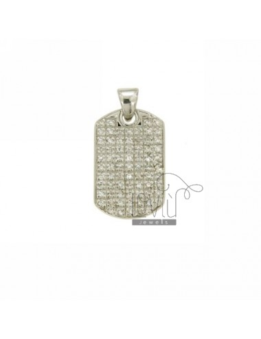 Pendant PLATE 21x14 MM IN...