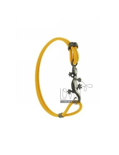Bracciale elastico giallo...