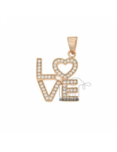 CHARM LOVE IN ROSE GOLD...