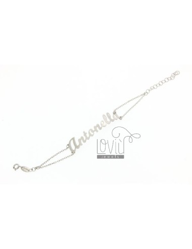 Rolo bracelet with name in...