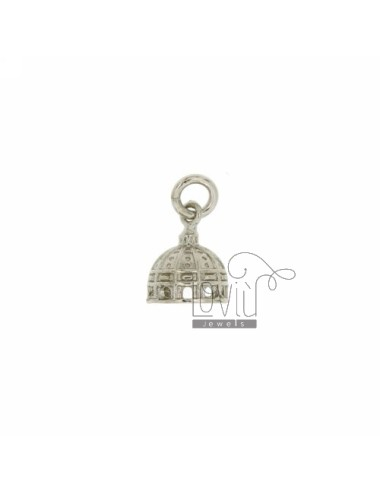 MONUMENT PENDANT DOME OF ST PETER AG casting RHODIUM TIT 925