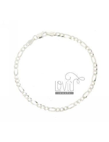 BRACELET 3 1 MM SLIM 3.4 CM 19 IN TIT AG 925 ‰