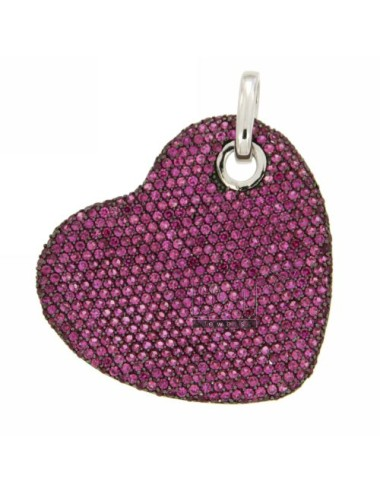 HEART PENDANT 35X37 MM WITH...
