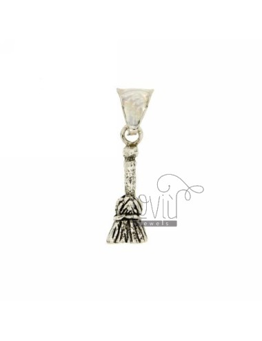 PENDANT BROOM IN AG microcast BRUNITO TIT 800 ‰