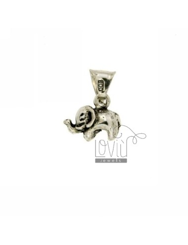 PENDANT ELEPHANT IN AG casting BRUNITO TIT 800 ‰
