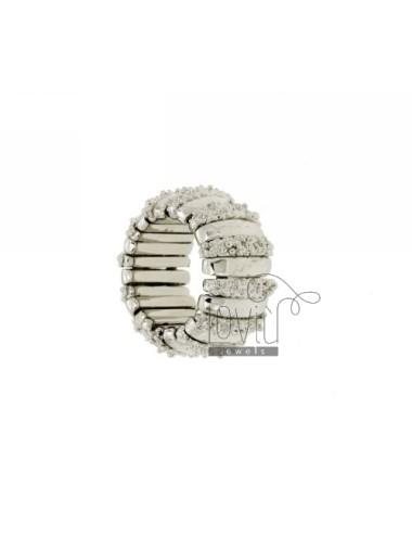 Bronce anillo rodio