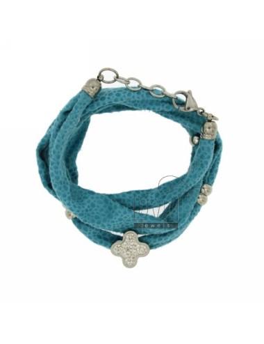 Licra turquoise bracelet...