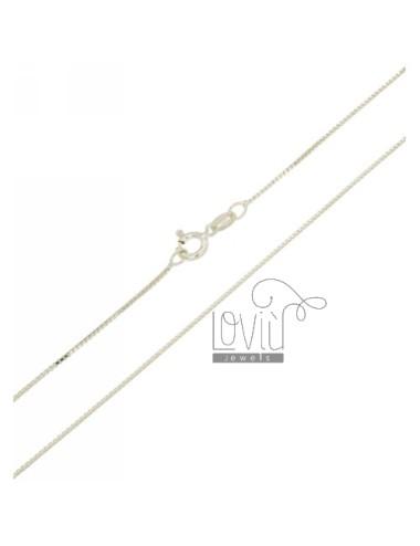 Cadena veneciana mm 0,8 cm...