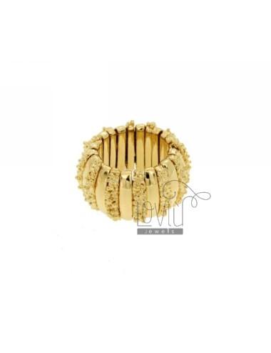 Bronce anillo dorado
