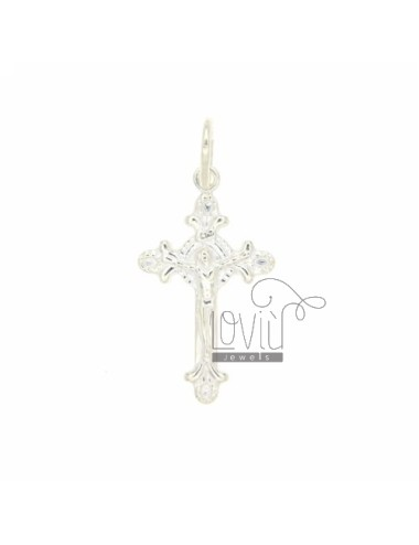 25X15 MM CROSS PENDANT IN SILVER INVESTMENT CAST A TIT BITS 925