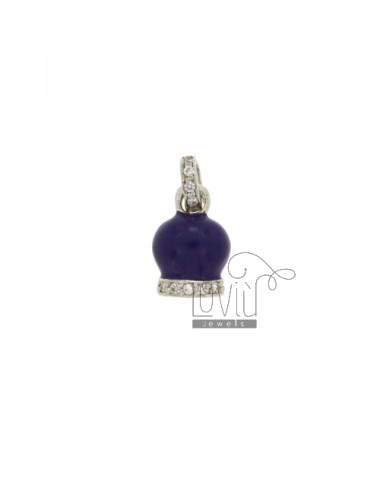 16X10 MM BELL PENDANT WITH...