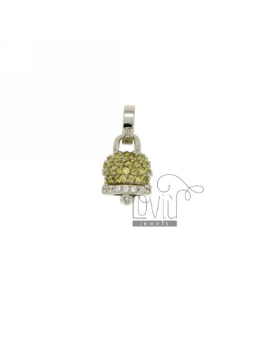 PENDANT BELL 13X10 MM WITH...