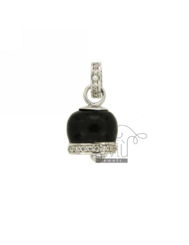 18x12 MM BELL PENDANT WITH...