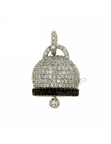 Charm bell 22x20 mm con...