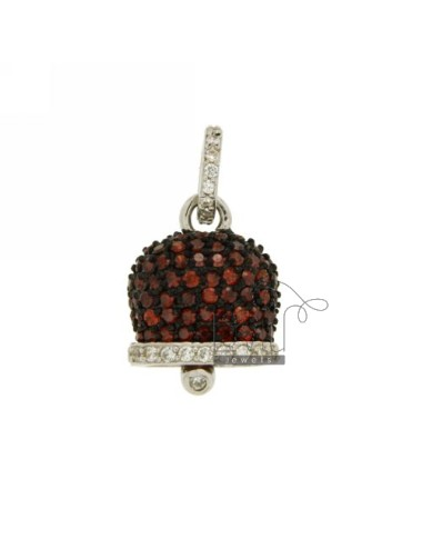 Charm bell 21x16 mm con...
